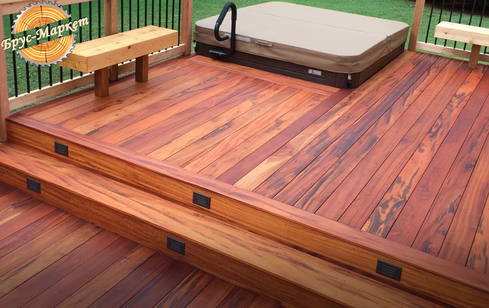 hardwood decking ideas ipe pictures brazilian wood depot throughout tigerwood remodel 22